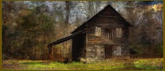 Tobacco shed, SC ..... explored thx (Beaches Marley.....iPad art) Tags: tobacco building farm shed sc painterly ipad pro pencil