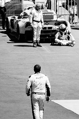 Disappointed (troppobronzo) Tags: disappointed racing blackandwhite wec 24hlemans lemans teamchevy chevrolet motorsport