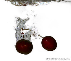 Cherries in water (morgantbphotography) Tags: photo photograph photography photographer student work alevel worklife inspire water droplet edit lightroom photoshop photooftheday morgantbphotography orange fruit veg vegetables vegetable bubbles nature cherry cherries apple apples pepper chili chilli lighting fishtank waterdrops colour macro shutterspeed iso exposure fineart art fineartphotography dark vignette canon tripod naturephotography