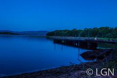 Blue Hour_ (LNG Urbx) Tags: blue hour heure bleu ireland irlande sunset lake lac mountshannon water peaceful quiet paisible calm dock warf quai clare