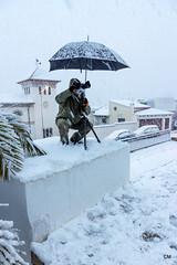 El fotògraf en pedestal.