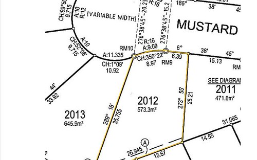 Lot 2012, 6 Mustard court, Edmondson Park NSW