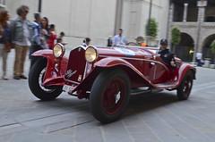 Alfa Romeo 6C 1750 Gran Sport Brianza (1932) (AleMex66) Tags: 1000 millemiglia rieti brescia historic history legend motorsport motori roma alfaromeo bugatti fiat lemans brianza mm d7000 nikonclub nn nikon astonmartin