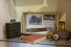 Igor museo, canteens and rusty knife (visitsouthcoastfinland) Tags: visitsouthcoastfinland degerby igor museum museo finland suomi travel history indoor
