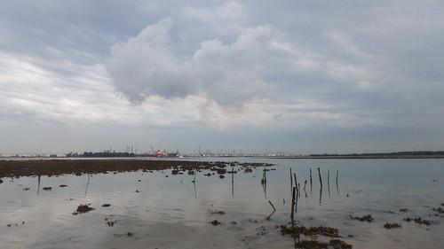 Emissions from Jurong Island at Terumbu Bemban
