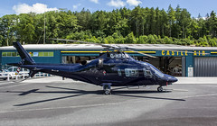 G-HPDM Agusta A109 @ Castle Air Charters Ltd, Liskeard, Cornwall. (Sw Aviation) Tags: ghpdm agusta a109 109 castle air ltd charters cornwall horningtops helicopter avgeek liskeard airplane flying flight