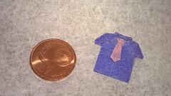 Shirt (H. Inayoshi) (Helyades) Tags: inayoshi origami papier paper square carré pli pliage fold tissue soie shirt chemise