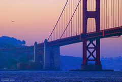 Golden Gate Bridge (Joseph Greco) Tags: bridge goldengatebridge sanfrancisco california dawn twilight morning bay suspensionbridge moody landscape seascape