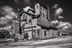 Thumb Farm Service Inc. (Knarr Gallery) Tags: grainelevator farm barn michigan porthope clouds rural nikon d300 18200mmf3556gvrii topaz topazadjust summer knarrgallery darylknarr knarrphotography