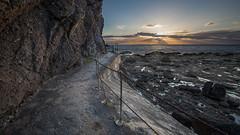 Gardenstown (avaird44) Tags: evening coast seascape sea coastline path chain cliff rockface gardenstown gamrie aberdeenshire scotland 6d canon