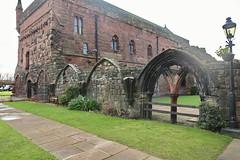 Carlisle Cathedral, Ruins of Priory Dormitory (Clanger's England) Tags: carlisle cumbria england abbey cathedral dormitory priory ruins wwwenglishtownsnet dorter ebb ebi kml lbs386595 gradeilistedbuilding