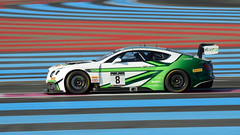 Bentley Team M-Sport Bentley Continental GT3 (Y7Photograφ) Tags: bentley team msport continental gt3 vincent abril andy soucek maxime soulet blancpain endurance series httt castellet nikon d3200 motorsport racing race
