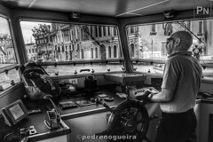 Inside the vaporetto (Pedro Nogueira Photography) Tags: pedronogueiraphotography pedronogueira photography veneza venezia venice water mobilephone iphone5 telemóvel iphoneography monochrome blackandwhite vaporetto canalgrande grandcanal