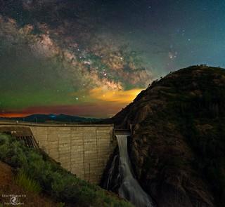 Dam Beautiful Milky Way