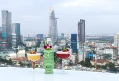 Drinks at Chill Sky Bar, District 1, Saigon (jennchanphotography) Tags: chill skybar rooftop drinks cocktails jenn chan photography saigon hochiminh city travel etnam vietnam