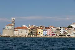 Pirano - Slovenia (teo683) Tags: pirano piran slovenia mare sea blu sky cielo adriatico città town