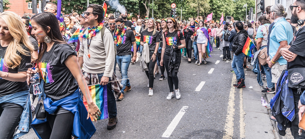 LGBTQ+ PRIDE PARADE 2017 [ON THE WAY FROM STEPHENS GREEN TO SMITHFIELD]-130083