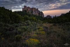 Crepúsculo en el castillo (Castle twilight) (ric.gayan) Tags: loarrecastilloatardecer