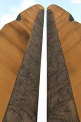 Monument (Jane Inman Stormer) Tags: sculpture monument war relief blade line southkorea memorial seoul
