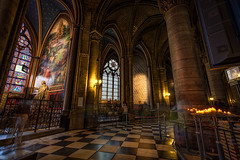 Ghosts of Notre Dame (Brian Behling) Tags: paris france notredame ghosts longexposure inside