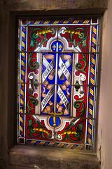 Heraldic stained glass (quinet) Tags: 2017 antik blasons copenhagen danishmuseumofnationalhistory frederiksborgcastle glasmalerei wappen ancien antique coatsofarms museum stainedglass vitrail zealand denmark