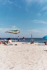 solstice (k0har) Tags: 35mm rockawaybeach newyork newyorkcity newyorkbeach rockaway brooklyn beachday solstice seaweed