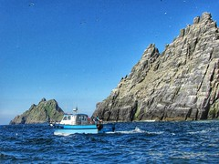 A trip to the Skellig Islands (altamons) Tags: altamons ireland éire travel trip holiday holidays vacation water island islands skellig boat birds starwars