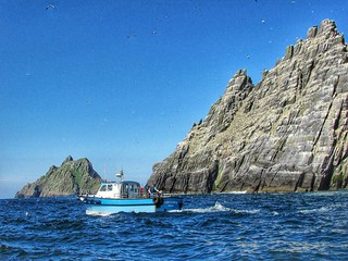 A trip to the Skellig Islands