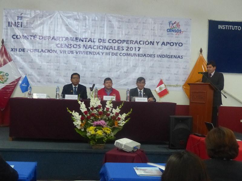 Comité de Cooperación y Apoyo a los Censos Nacionales - Tacna