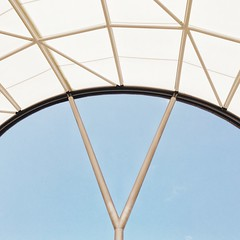 Pacific Fair, Gold Coast, QLD (michelle-robinson.com) Tags: angles architecture abstract blue snapseed adelaideartist geometry iphone7plus editedonipadair vsco adelaidephotographer michellerobinson curve