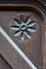 Détail de porte (Julien Denard) Tags: porte fleur bois wood door saint cirq lapopie lot medieval occitanie