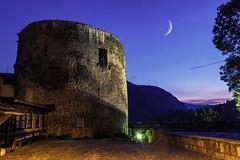 06240098 (tomislav.josipovic) Tags: bosna hercegovina jajce bosnaihercegovina bosnien light moon oldtown castle fortress tower