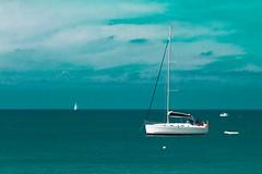 Ile de Gozo-Malte (Christian Tessier) Tags: malte eaubleue ciel iledegozo christiantessier bateau voilier