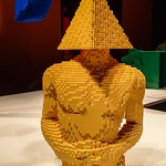 Triangle Torso by Lego artist Nathan Sawaya thumbnail