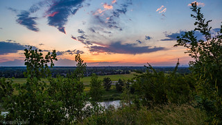 Sunset Bow River