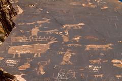 Fantastical Creatures (W9JIM) Tags: w9jim rockart petroglyph utah dewey deweybridge 7d 24105l