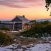 Craig's Hut First Light ([v] style + imagery) Tags: aplinenationalpark astro bushhut bushmanshut cattlemanshut craigshut craigshutastro manfromsnowyriver milkyway mtsterling snow snowgums victoria victorianhighcountry vivid pastel firstlight