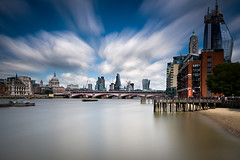 _DSC7010 (Blink_Of_An_Eye53) Tags: blackfriarsbridge blackfriarsrailwaybridge blackfriarstower churches cities london oxotower riverthames stpaulscathedral thecheesegrater thecity thegherkin thewalkietalkie tower42