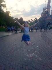 Pics from phone (Elysia in Wonderland) Tags: disneyland paris 2017 elysia elysias birthday 25th 25 anniversary holiday snapchat disney sleeping beautys castle jump jumping