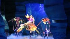 Disney World: Animal Kingdom - Finding Nemo - The Musical - Go with the Flow (wallyg) Tags: crush dory marlin amusementpark animalkingdom dinolandusa disneyworld findingnemothemusical florida musical orlando theaterinthewild findingnemo themepark orangecounty waltdisneyworldresort baylake song gowiththeflow turtle video singing