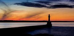 IMG_1283-Pano.jpg (___INFINITY___) Tags: infinity scotland dazza1040 darrenwright aberdeen seascape southbreawater torrybattery pano sunset