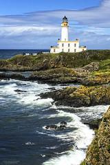 Turnberry Lighthouse (Chris Lishman) Tags: turnberry lighthouse golf turnberrygolfcourse ailsa waves sea bay rocks rocky sky blue iconic trump donaldtrump ailsacourse sport halfwayhouse
