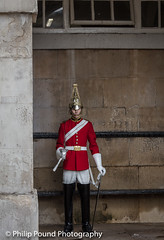 Horse Guard on Guard (Philip Pound Photography) Tags: changingtheguard householdcavalry britisharmy britishsoldiers queenshouseholdcavalry horseguardsparade london soldiers uniform pomp ceremony pageantry