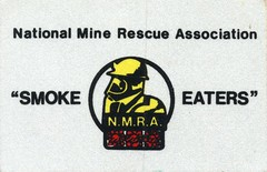 National Mine Rescue Association sticker (Coalminer5) Tags: coalmining coalminer coalmemorabilia coalcollectibles coal mining miningmemorabilia miningcollectible miningartifacts decal drager draeger dragerman draegerman sticker minerescue minerescuecontest minerescuecompetition smokeeaters smokeeater nationalminerescueassociation nmra