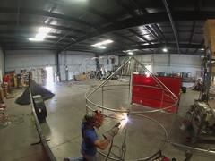 Welding Fyke Trap Frame