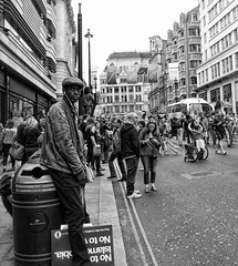 No more austerity (Dun.can) Tags: peoplesassembly london 1july2017 westminster demonstration nomoreausterity streets blackwhite haymarket
