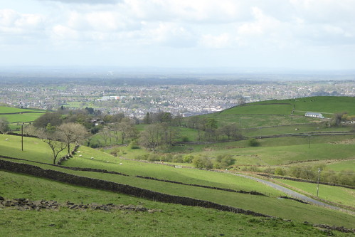 Macclesfield, seen from Tegg's Nose Country Park