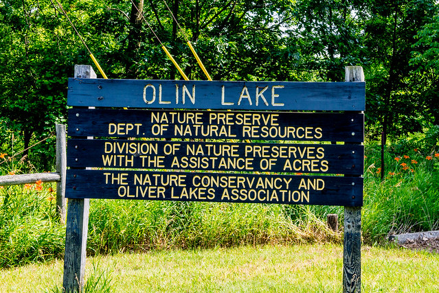 Olin Lake Nature Preserve - July 3, 2017