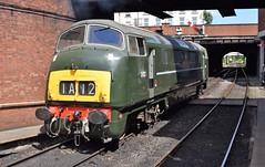 "D832 ""ONSLAUGHT"" at Bury, ELR Diesel Gala (colin9007) Tags: railway lancashire east diesel gala bury br swindon hydraulic bb maybach warship class 42 type 4 d832 onslaught"