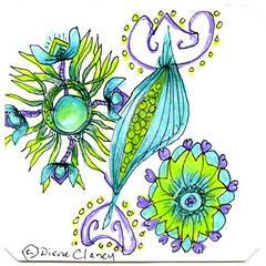 (My Diane & Carolien's Q-R-S Challenge Entry) has been published on Diane Clancy Art Blog (Diane Clancy) Tags: dianeampcaroliensweeklyzentanglechallenge qrs qrschallenge quickzly rigardu stonhampaisley tanglechallenge